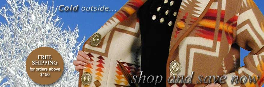 Pendleton Blanket Coats by Navajo Spirit