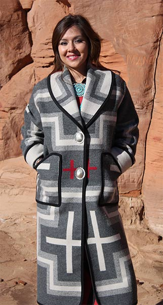Keams Canyon Long Coat - San M