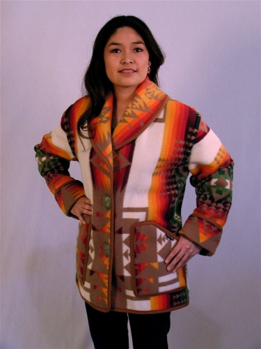 Keams Canyon Short Jacket - Chief Joseph