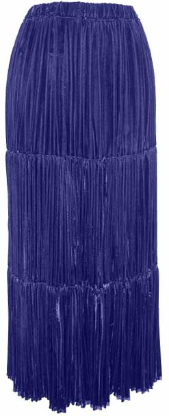 Navajo Velvet Pleated Skirt