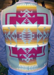 Mount Taylor Vest - Custom Blanket Choice