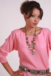 Tsaile Blouse - Cotton Gauze